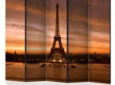 Paraván - Eiffel tower at dawn II [Room Dividers]